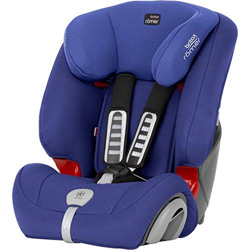 Britax-Romer 2000025480 Evolva 1-2-3 Plus Seggiolino Auto, Ocean Blue
