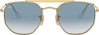 Ray-Ban Uomo Marshal Steel Sunglasses, Grigio