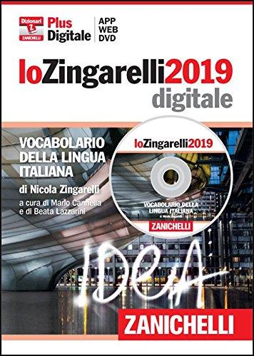 lo Zingarelli 2019. Vocabolario della lingua italiana in DVD-ROM (per Windows, Mac, iOs e Android)