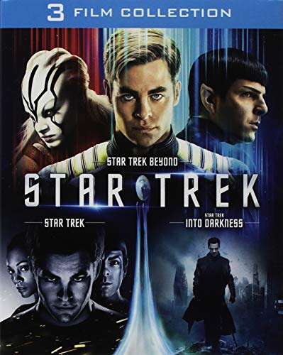 Star Trek Trilogia (Box 3 Br Star Trek Beyond,Star Trek Into Darkness,Star Trek)