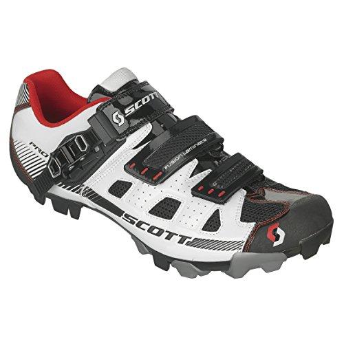 Scott MTB Pro Cycling shoe nero white/blue gloss