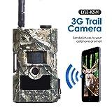 Bolyguard 3G sans Fil MMS GPRS Caméra de Chasse 24MP 1080P Caméra de Surveillance Étanche 28 LEDs Vision Nocturne Traque IR Caméra de Jeu Nocturne Infrarouge Imperméable IP66