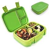 Bentgo Fresh - Auslaufsichere Lunchbox | Bento Box mit 4 Unterteilungen, Grün