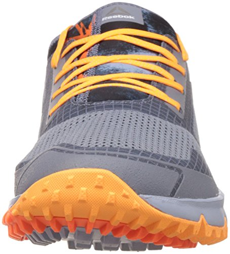 Reebok Bd4510, Chaussures de Course de Trail Homme Multicolore (Aster Dust / Gbl Grey / Fr Spark / Wld Orange )