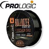 Prologic Bulldozer FC Coated Mono Trans Green 1000m - Karpfenschnur zum Angeln auf Karpfen, Monofile Angelschnur zum Karpfenangeln, Durchmesser/Tragkraft:0.40mm/20lbs Tragkraft