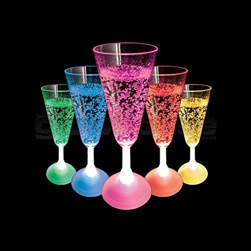 Flashing Champagne Glass