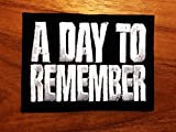 A Day to Remember Rock Band Music Heavy Metal Logo Iron-on/Sew-on Embroidered Patch