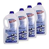 Hoyer AdBlue Hochreine SCR Harnstofflösung ISO 22241, 4x5 Liter