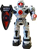 ThinkGizmos Remote Control Robot For Kids - Fires Soft Missiles, Dances, Talks & Walks - Fun Toy Robot (Registered Trademark)