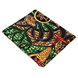 6 Yard afrikanischen Stoff Dual-Side Ethnic Style Print