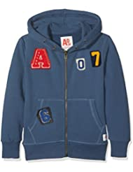 Unbekannt Jungen Kapuzen-Sweatshirt Full Zip Sweater Applic