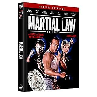 Martial Law 1-3 Trilogy - Uncut - Mediabook - Limitiert  (+ 2 DVDs] [Blu-ray]