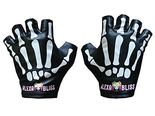 Bliss Little Miss Bliss Replica TV Authentic (Halloween Kostüme Skelett Handschuhe)