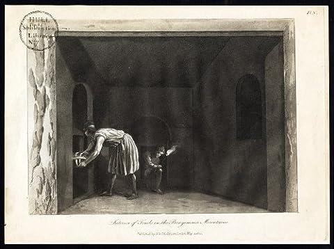 ThePrintsCollector Antique Tombs-Bengemmar imprimé montagne-Malte-Merigot-Boisgelin -