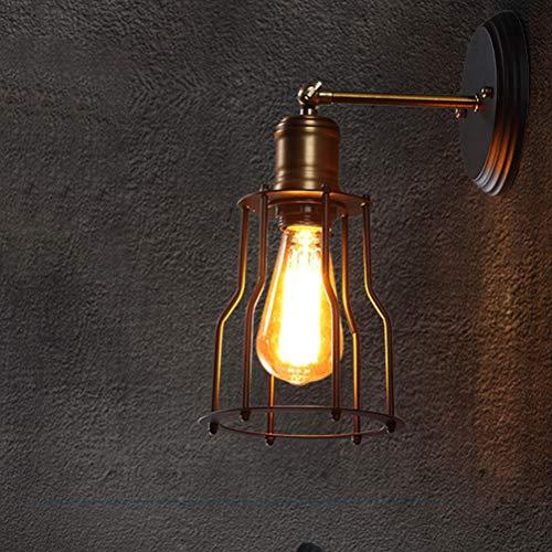BIN Lampe Murale Rétro Applique Murale Luminaire Réglable X2