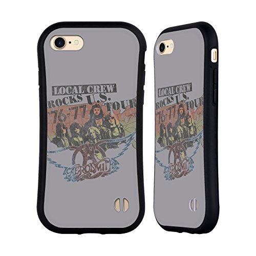 Ufficiale Aerosmith Sweet Emotion Arte Da Poster 3 Case Ibrida per Apple iPhone 5 / 5s / SE Local Crew Rocks
