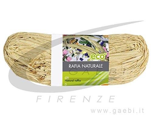 Verdemax 4594 150 g Bobine de raphia naturel