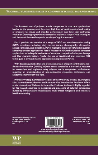 Non-Destructive Evaluation (NDE) of Polymer Matrix Composites (Woodhead Publishing Series in Composites Science and Engineering)