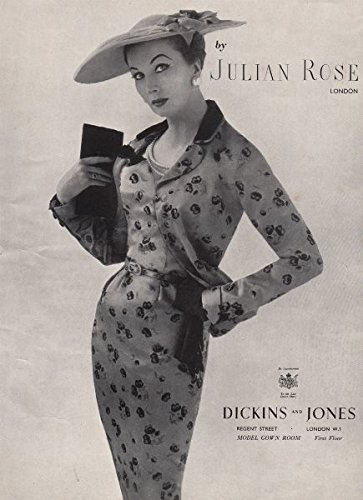 julian-rose-london-dickins-and-jones-fashion-advert-british-vogue-1955-old-antique-vintage-print-art