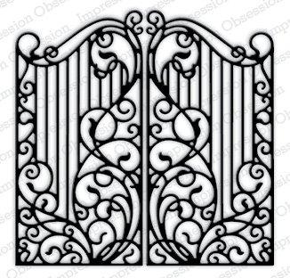 Impression Obsession ferro battuto recinzione 450-yy