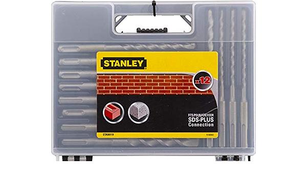Stanley STA56128-XJ Jeu de forets de ma/çonnerie Argent/é