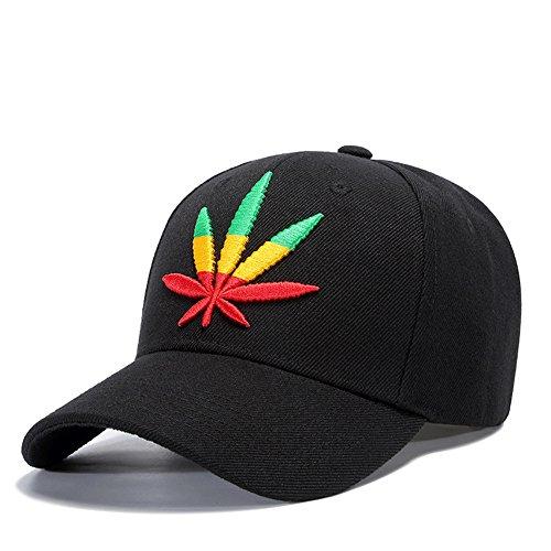 MENGMA Herren Mode Hip Hop Weed-Hut-Kappen-Hysteresen-Straße Mütze Baseball-Mütze Geschenke Bboy Cap Beste Geschenke Einstellbar weiß