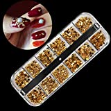 Amorar Nail Art Strass Décorations d'Ongles 3D Pierres de Strass Cristaux à Ongles Colorées avec Crayon Nail Cristaux AB Paillettes Mixtes Strass d'art Mini Diamant Brillant DIY Strass