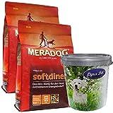 MERA Dog 2 x 12,5 kg Softdiner Premium Hundefutter erwachsene Hunde+ Futtertonne