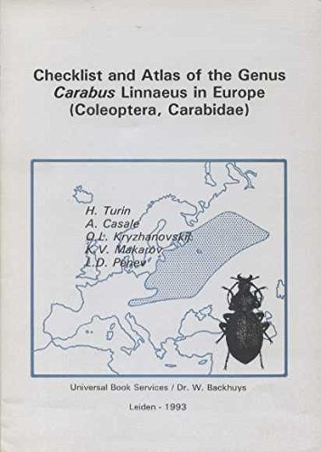 Checklist and Atlas of the Genus Carabus Linnaeus in Europe (Coleoptera, Carabidae)