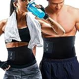 Iconic banda abdominal cintura adelgazante para hombre y mujer, cinturón abdominal adelgazante ajustable, quemador de grasas y Fa Sudare, Sauna Reductora abdominales