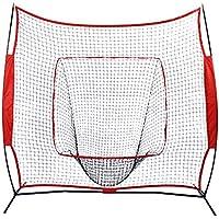 Red de Entrenamiento para Béisbol, Practica de Softbol Red de Entrenamiento de Tubos de Acero 213 x 213cm