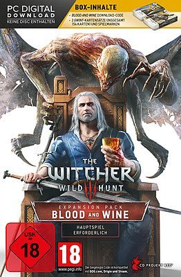 Add-On The Witcher 3 Blood and Wine + Gwint-Kartenspiel (Windows PC-DVD) - Geheimnisvolle Glanz