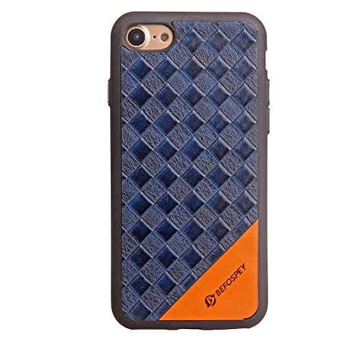 Frosted Weaving Texture Back Cover Soft Ultra Thin Slim Shell Case Mit Galvanisierungsknopf Fur IPhone