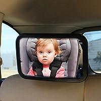 Espejos retrovisores y partes de repuesto coche y moto espejos retrovisores - Espejo coche bebe amazon ...