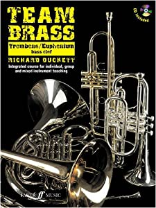 Team Brass: Trombone/Euphonium (Bass Clef) (With Free Audio CD)