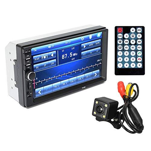 Starmood 7 Zoll Bluetooth Radio Stereo MP5 Spieler mit Rückfahrkamera Fm USB Tf Karte