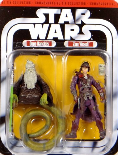 "Preisvergleich Produktbild Oppo Rancisis & Bounty Hunter Zam Wesell ""AOTC"" - Star Wars Commemorative Collection Set 30th Anniversary von Hasbro"
