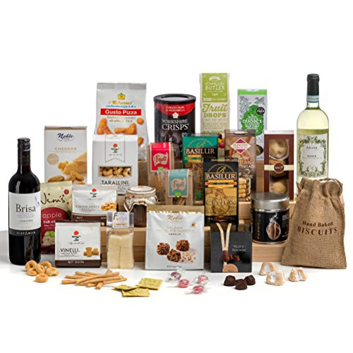Hay Hampers Luxury Office Christmas Party Hamper Box - FREE UK Delivery
