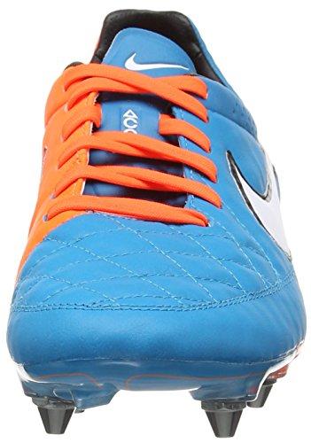 Nike  Tiempo Legend V FG, Chaussures de Football Compétition homme Blau (NEO TURQ/WHITE-HYPR CRMSN-BLK 418)