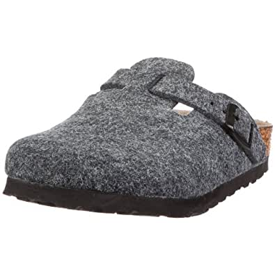 Birkenstock Boston 60861, Chaussures  mixte enfant - Gris clair,  30 (normal) EU