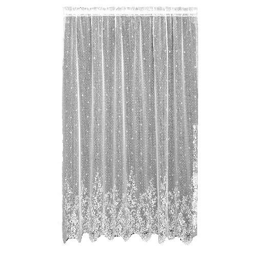 Heritage Lace Floret 60-Inch Wide by 63-Inch Drop Panel, White by Heritage Lace -