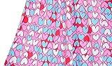 LILLESTOFF Mädchen Stoff Rosa Herzen Nähen Kinder Bio