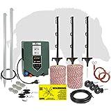 EIDER Wildabwehr-Set ProLine für 200m länge - alles was Sie zum Start benötigen - hochwertige Komponenten Made in Germany - Gegen Wildschweine, Wild