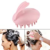 PEPECARE Electric Head Massager Shampoo Massage Comb Bath Brush Scalp Vibrating Rabbit