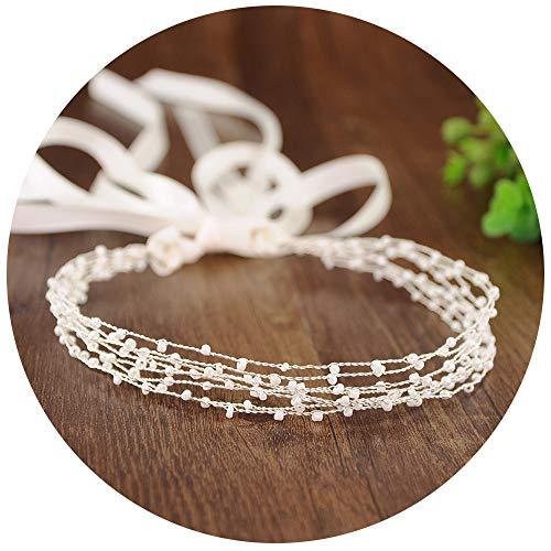 TOPQUEEN Accessoires braut Gold Perle Strass Braut Haarkamm Hochzeit Haarschmuck Tiara Diadem, Schmetterlinge (HP28-S)