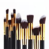 Pure-Vie®-10-Pcs-Professional-Cosmetic-Makeup-Brushes-Set-Essential-Make-Up-Tools-Kit-for-Professional-as-well-as-Personal-Use