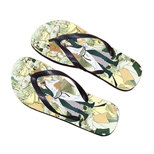 Bromeo Gintama Anime Unisexe Flip Flops Tongs 489