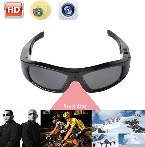 JOYCAM Occhiali da sole con Fotocamera HD 720P Polarizzato UV400 Occhiali DVR Eyewear Camcorder