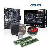 Memory PC Aufrüst-Kit Bundle AMD Ryzen 5 2400G 4X 3.6 GHz, 8 GB DDR4, ASUS A320M-K, fertig montiert und getestet