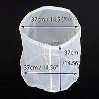 alivecraft resistente Cilindro grande in nylon Dado Latte Borsa 1noi Gallone a 10Gallon riutilizzabile fine (5 Borse Gallon Bag)